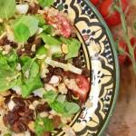 Jørns salat med quinoa